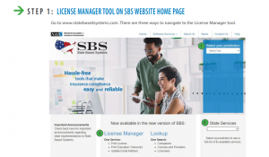 How to Find Your Insurance Transcript using the SBS Webiste